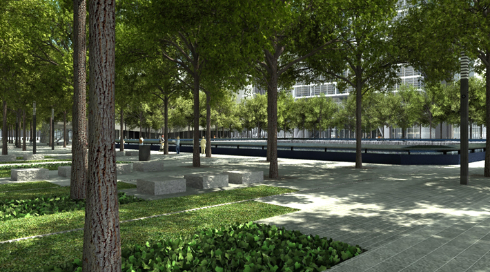 Shade And Cooling Pwp Landscape Architecture